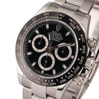 ROLEX | Daytona, Ref. 116500LN, A Stainless Steel Chronograph Wristwatch