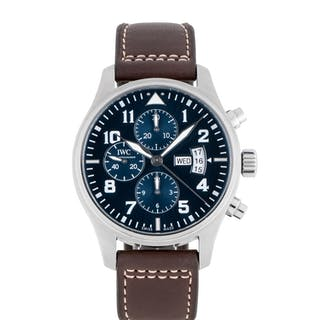 IWC | PILOT'S WATCH LE PETIT PRINCE, REF 3777 STAINLESS STEEL CHRONOGRAPH