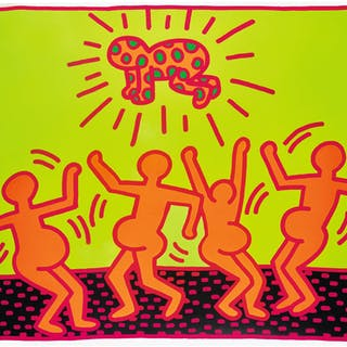 KEITH HARING | UNTITLED 1 (LITTMANN P. 31)