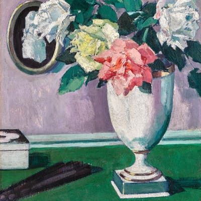 FRANCIS CAMPBELL BOILEAU CADELL, R.S.A., R.S.W.   ROSES
