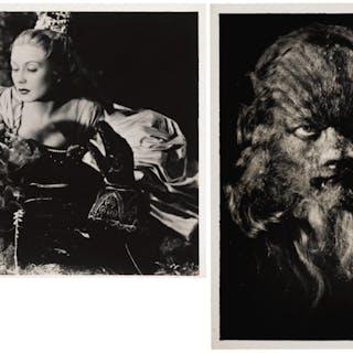 LA BELLE ET LA BETE / BEAUTY AND THE BEAST (1946) STUDIO STILL PHOTOGRAPHS