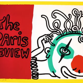 KEITH HARING | THE PARIS REVIEW (L. P. 114)
