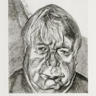 LUCIAN FREUD | DONEGAL MAN (F. 88)