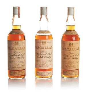 THE MACALLAN OVER 15 YEAR OLD 45.85 ABV 1952