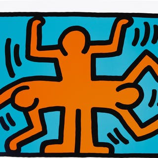 KEITH HARING | POP SHOP VI (L. PP. 150-51)
