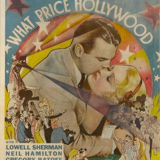 WHAT PRICE HOLLYWOOD? (1932) POSTER, US
