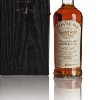 BOWMORE 21 YEAR OLD 43.0 ABV NV