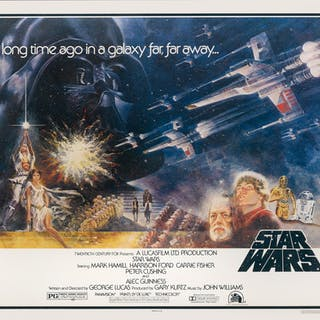 STAR WARS (1977) POSTER, US