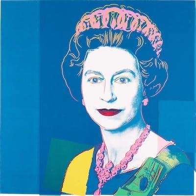 Andy Warhol Queen Elizabeth Ii See F S Iib 334 337