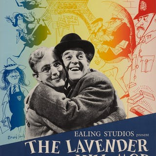 THE LAVENDER HILL MOB (1951) POSTER, BRITISH