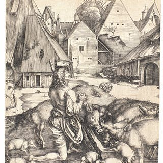 ALBRECHT DÜRER | THE PRODIGAL SON (B., M., HOLL. 28)