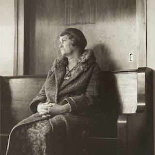 DOROTHEA LANGE | WOMAN WAITING