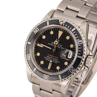 ROLEX | Submariner, Ref. 1680, A Stainless Steel Wristwatch with MK4