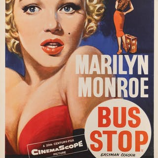 BUS STOP (1956) POSTER, BRITISH