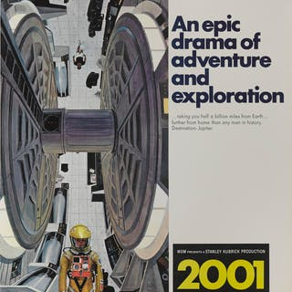 2001: A SPACE ODYSSEY (1968) POSTER, US