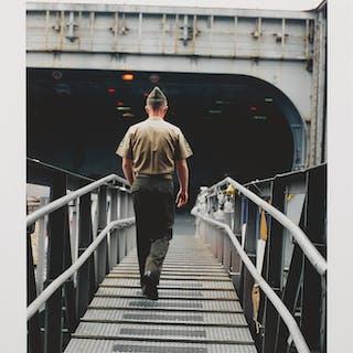 WOLFGANG TILLMANS | SOLDIER GANGWAY II