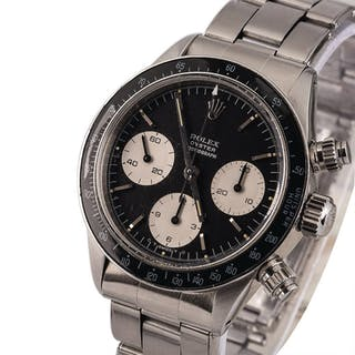 ROLEX | Daytona, Ref. 6263, A Stainless Steel Chronograph Wristwatch