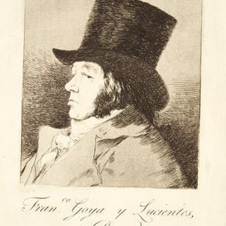 FRANCISCO JOSÉ DE GOYA Y LUCIENTES   LOS CAPRICHOS (DELTEIL 38-117;