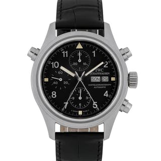 IWC | DOPPELCHRONOGRAPH, REF 3713 STAINLESS STEEL SPLIT-SECONDS CHRONOGRAPH