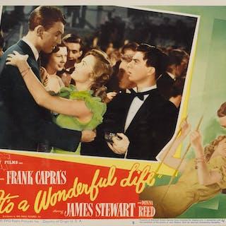 IT'S A WONDERFUL LIFE (1946) LOBBY CARD, US