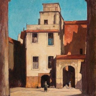 SIR DAVID YOUNG CAMERON, R.A., R.S.A., R.W.S. | PIETROS, ROME