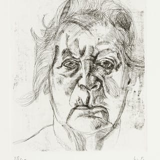 LUCIAN FREUD | THE PAINTER'S MOTHER (FINAL VERSION) (H. 20; F. 22)