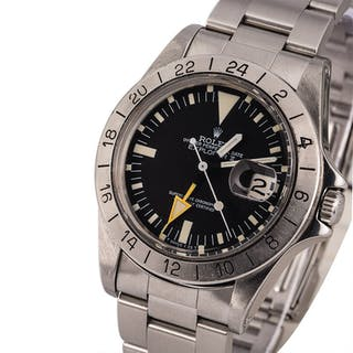 ROLEX   Explorer II, Ref. 1655, A Stainless Steel Wristwatch with