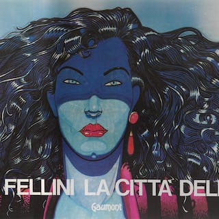 LA CITTA DELLE DONNE / CITY OF WOMEN (1980) POSTER, ITALIAN
