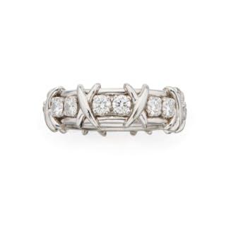 DIAMOND 'SIXTEEN STONE' RING, SCHLUMBERGER FOR TIFFANY & CO.