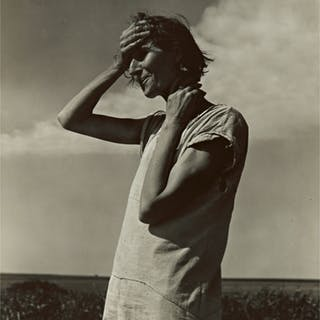 DOROTHEA LANGE | WOMAN OF THE HIGH PLAINS, TEXAS PANHANDLE