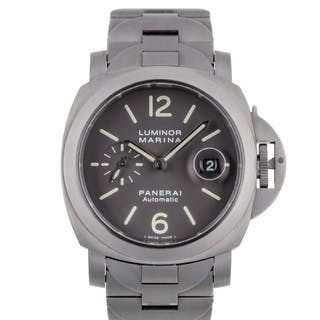 PANERAI | LUMINOR MARINA LIMITED EDITION TITANIUM WRISTWATCH WITH