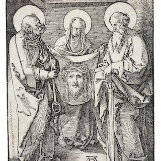 ALBRECHT DÜRER | ST. VERONICA BETWEEN ST. PETER AND ST. PAUL; AND
