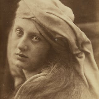 JULIA MARGARET CAMERON | A STUDY OF THE CENCI (MAY PRINSEP)