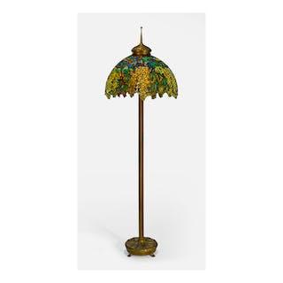 "TIFFANY STUDIOS | ""LABURNUM"" FLOOR LAMP"