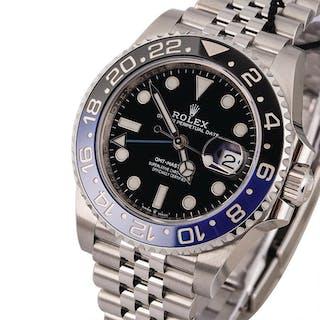 ROLEX | GMT Master II, Ref. 126710BLNR, A Stainless Steel Wristwatch
