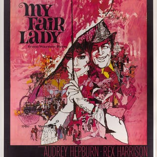 MY FAIR LADY (1964) POSTER, US