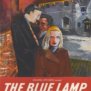 THE BLUE LAMP (1950) POSTER, BRITISH