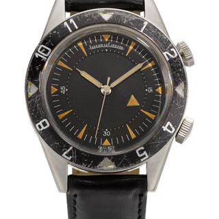 JAEGER-LECOULTRE | MEMOVOX DEEP SEA, REFERENCE E857,  STAINLESS STEEL