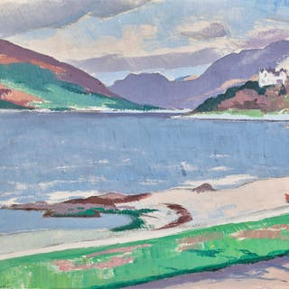 FRANCIS CAMPBELL BOILEAU CADELL, R.S.A., R.S.W.   COVE, LOCH LONG