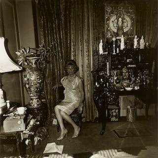 DIANE ARBUS   'WIDOW IN HER BEDROOM, 55TH STREET, N .Y. C.'