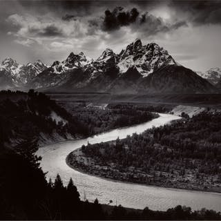 ANSEL ADAMS | 'THE GRAND TETONS AND THE SNAKE RIVER, GRAND TETON NATIONAL