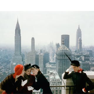 NORMAN PARKINSON | YOUNG VELVETS, YOUNG PRICES, HAT FASHIONS III (THE