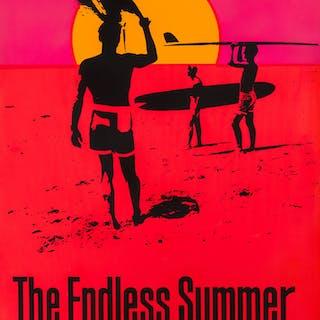 THE ENDLESS SUMMER (1966) SILKSCREEN, US