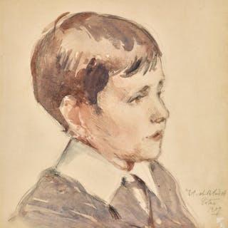 FRANCIS CAMPBELL BOILEAU CADELL, R.S.A., R.S.W. | HEAD OF A BOY