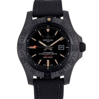 BREITLING | AVENGER BLACKBIRD, REF V17310 TITANIUM WRISTWATCH WITH