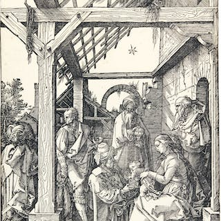 ALBRECHT DÜRER | THE ADORATION OF THE MAGI (B. 3; M., HOLL. 208)