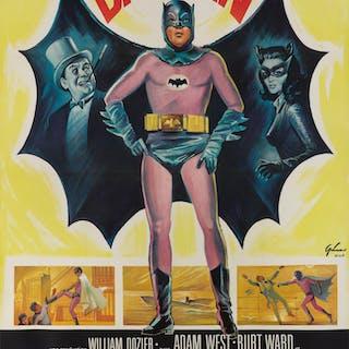 BATMAN (1966) POSTER, FRENCH