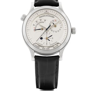 JAEGER-LECOULTRE | MASTER GEOGRAPHIC, REF 142.8.29 STAINLESS STEEL