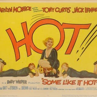 SOME LIKE IT HOT (1959) TITLE CARD, US