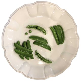 Este Ceramiche Porcellane, Peas On Plate